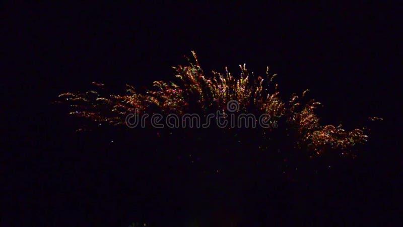 pyrotechnie Франция фейерверков выдумкы † 720 x†† 1280†сток-видео