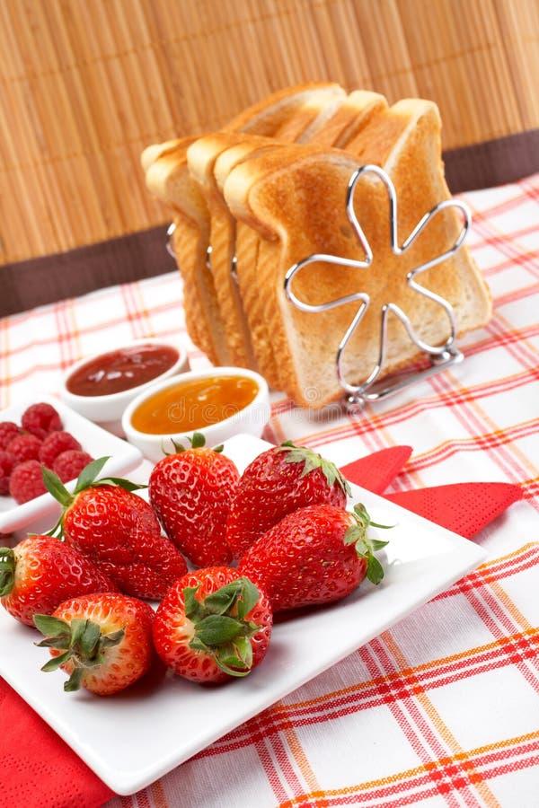 pyszne śniadanie fotografia stock