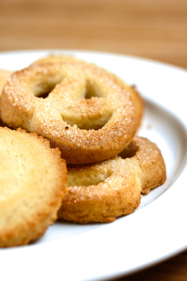 pyszne ciastka masła plateful ciepła obrazy royalty free