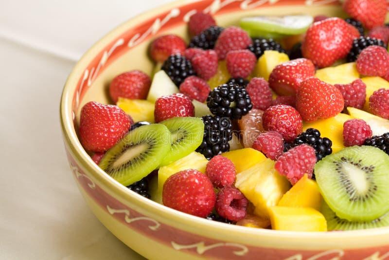 pyszne sałatka owocowa obraz stock