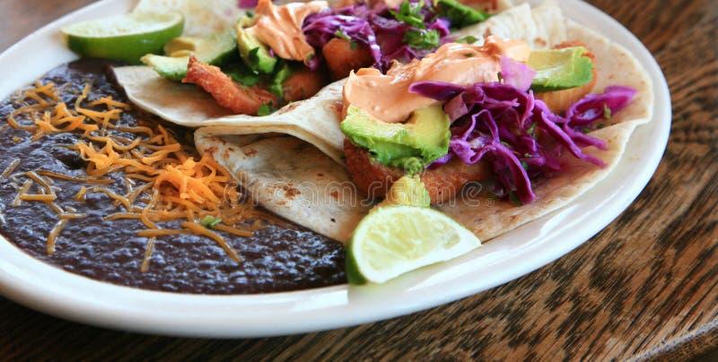 pyszne taco ryb zdjęcie royalty free