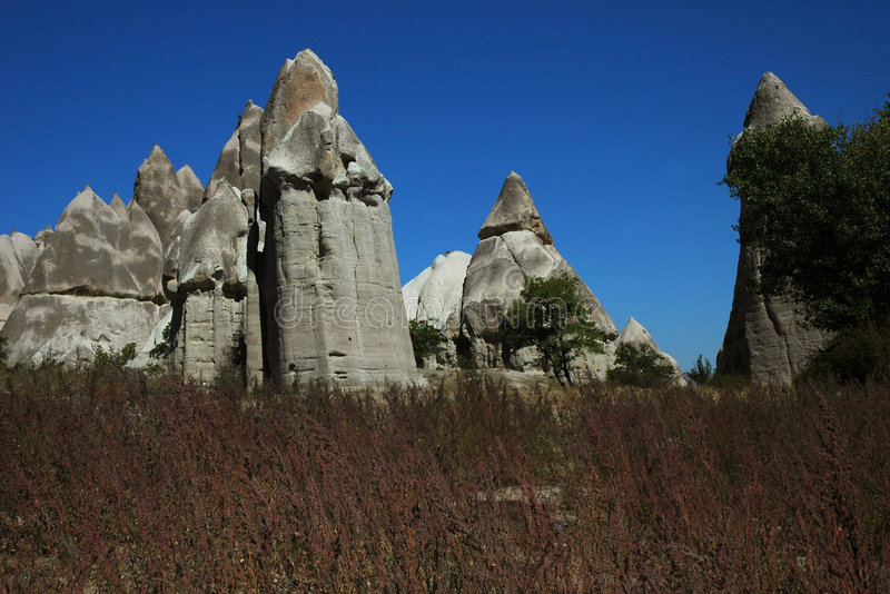 pyta cappadocia vadisi zdjęcia royalty free