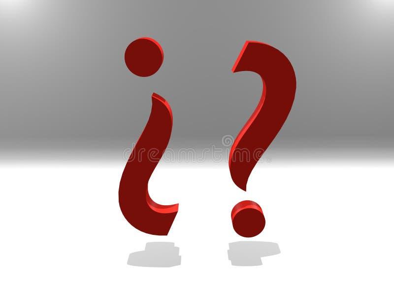 Pytania dzień, znaki zapytania ilustracji