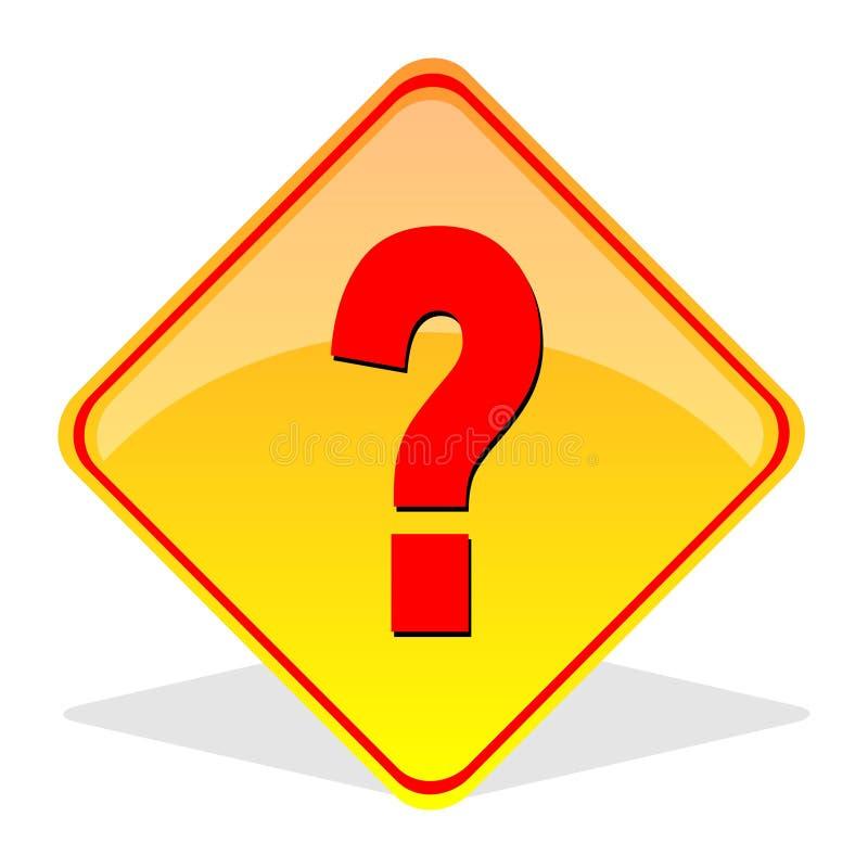 pytania oceny znak ilustracja wektor