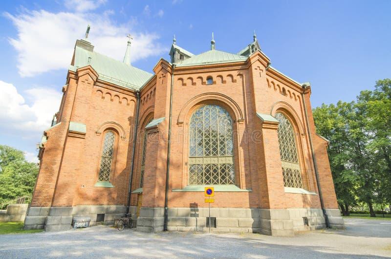 Pyynikkikerk, Tampere Finland. stock afbeeldingen