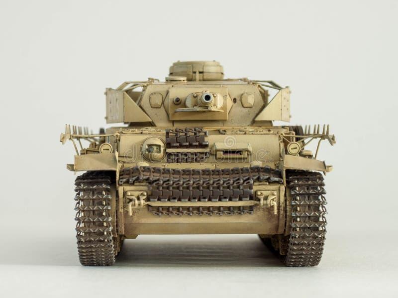 Pz alemão Kpfw Ausf IV Modelo do tanque de F ilustração royalty free
