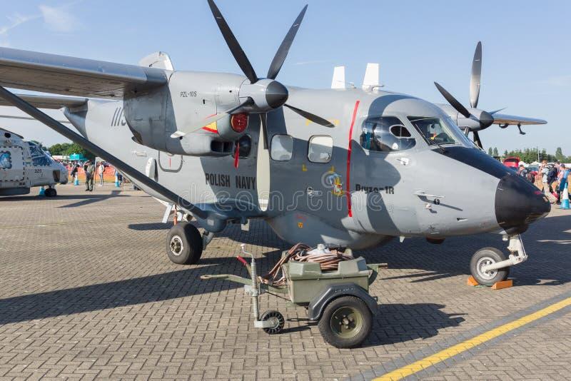 PZL-10S波兰人海军航空器 免版税库存照片