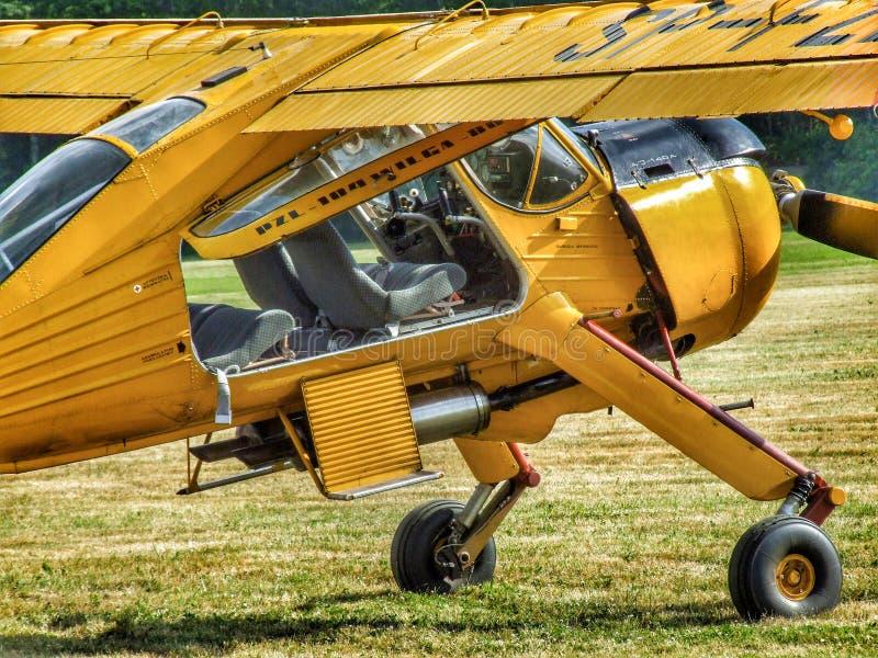 Pzl-104 Wilga 80 αεροσκάφη στοκ φωτογραφία