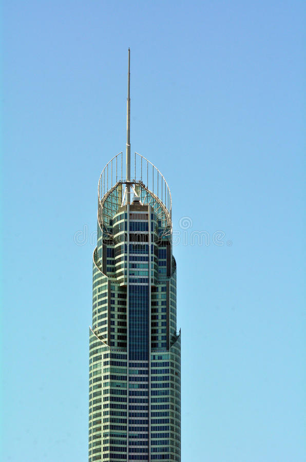 Q1 bouwend Gouden Kust Queensland Australië royalty-vrije stock foto's