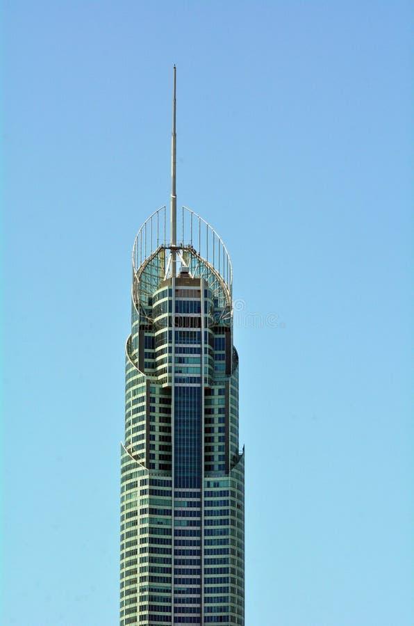 Q1 budynku złota wybrzeże Queensland Australia zdjęcia royalty free