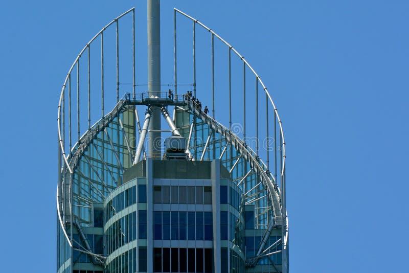 Q1 budynku złota wybrzeże Queensland Australia fotografia stock