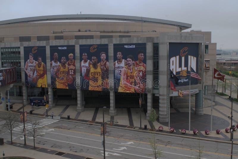 Q, Cleveland OH fotografia royalty free