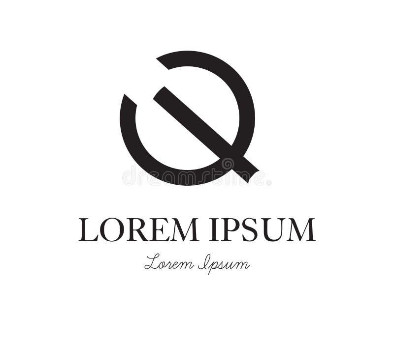 Download Q Logo Concept Design Stock Vector - Image: 83705026