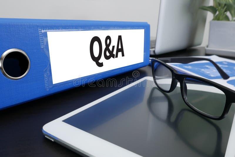 Q&A - Pergunta e resposta foto de stock royalty free