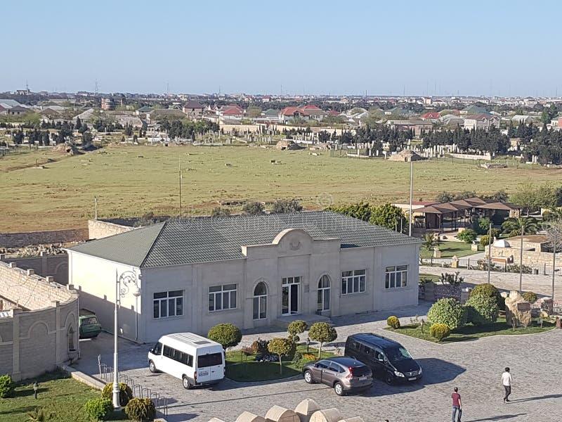 Qala城堡上面 图库摄影