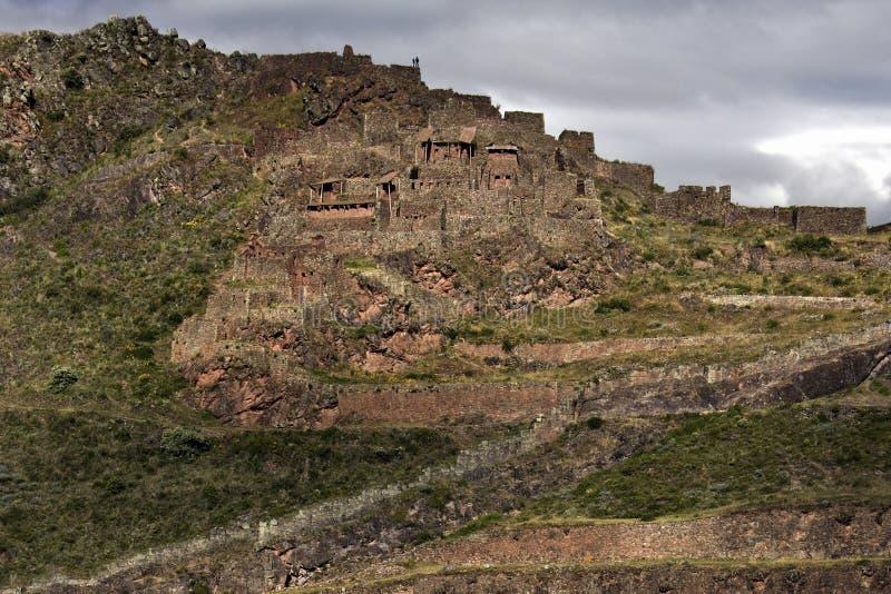 Qantus Raqay - den sakrala dalen av incasna - Peru royaltyfria foton