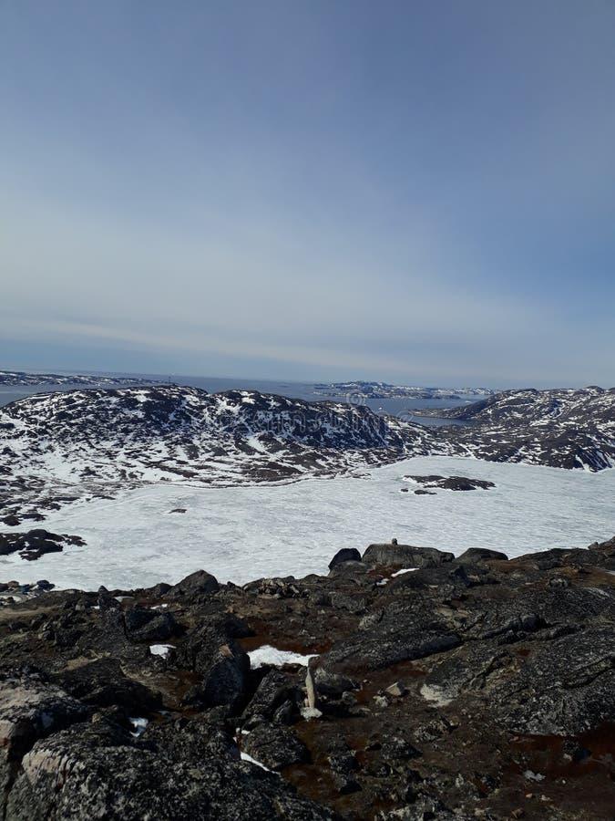 Qaqortoq, Grönland stockfotografie