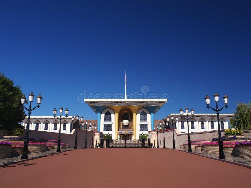 Qasr Al Alam, Muscat, Omán fotografía de archivo libre de regalías
