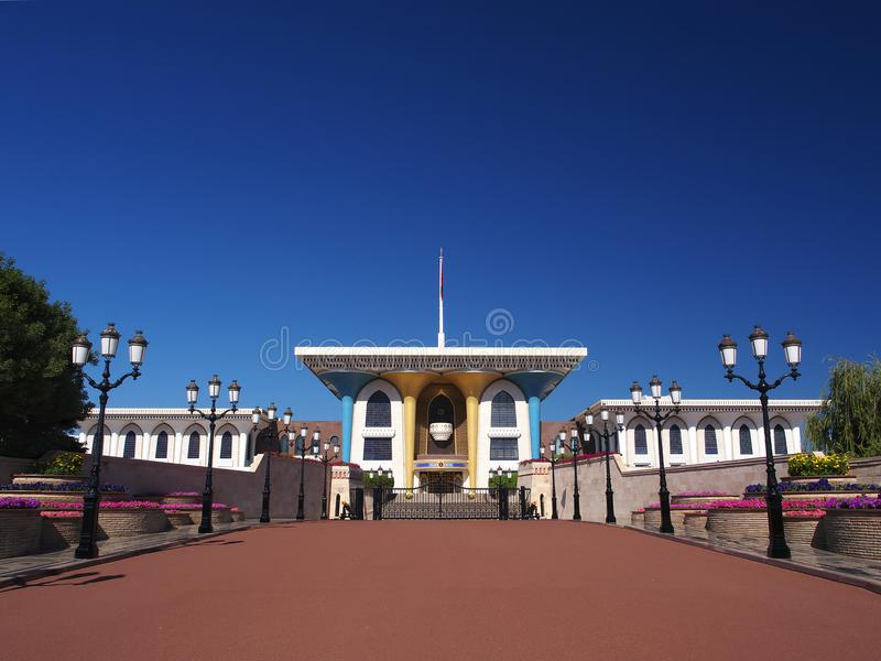 Qasr Al Alam, Muscat, Oman royaltyfri fotografi