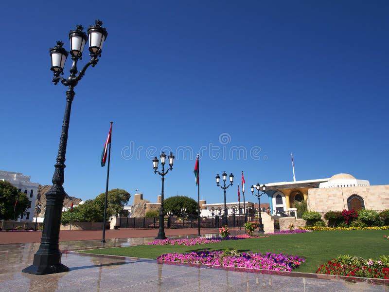 Qasr Al Alam, Muscat, Oman arkivbilder