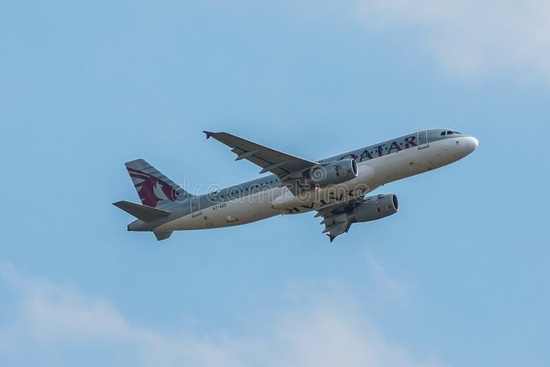Qatar Airways surfacent photos stock