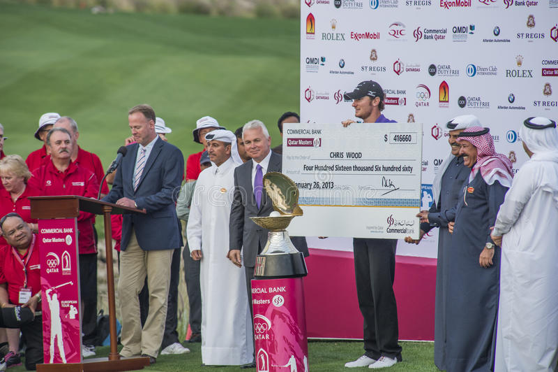 Qatar beherrscht 2013 lizenzfreies stockbild