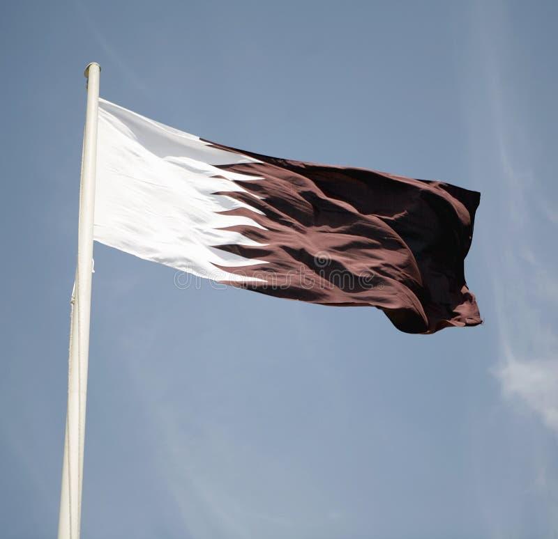 Qatar Flag stock photos