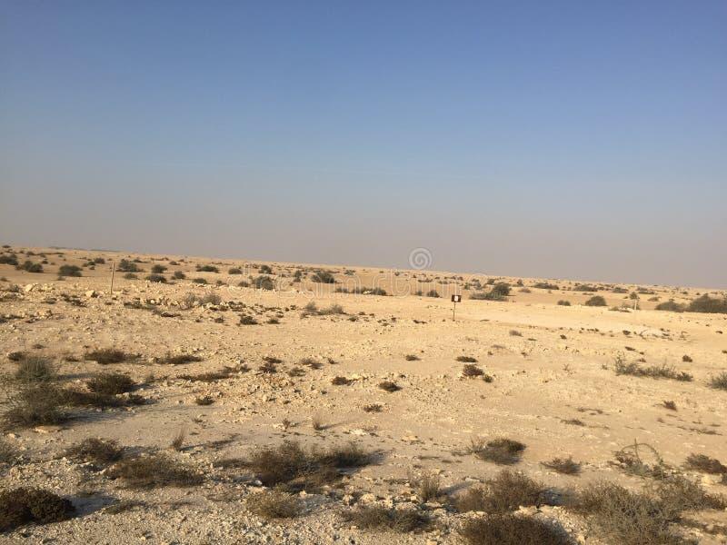 Qatari öken arkivbilder