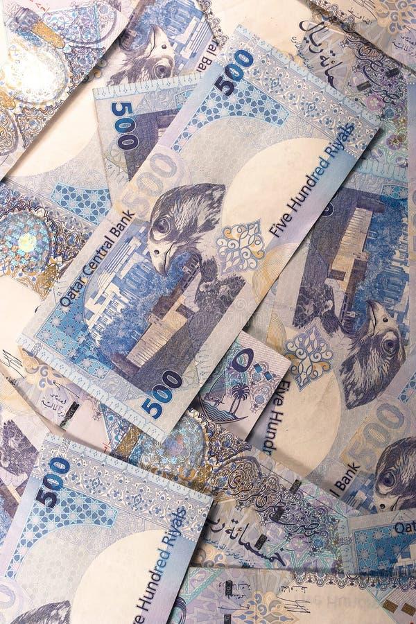 Qatari Riyals lizenzfreie stockfotos