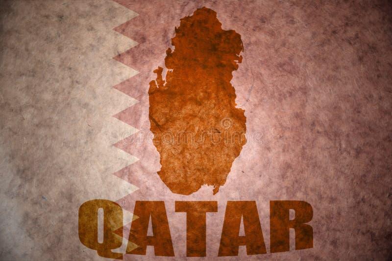 Qatarisk tappningöversikt royaltyfri bild
