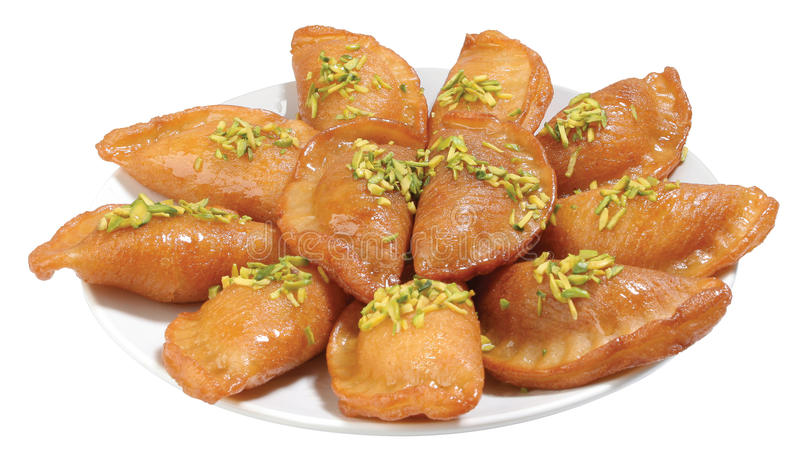 Qatayef lizenzfreie stockbilder