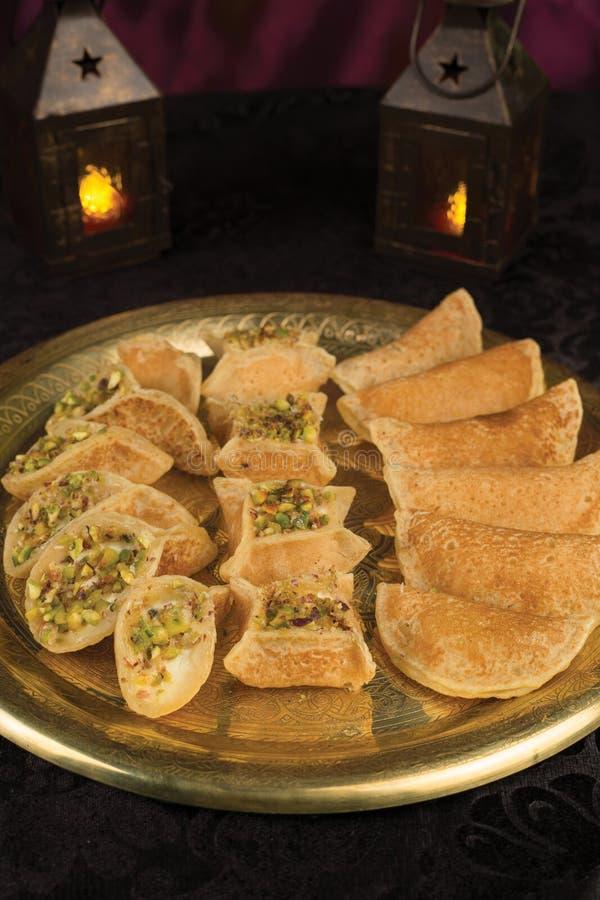 Qatayef Ramadan image libre de droits