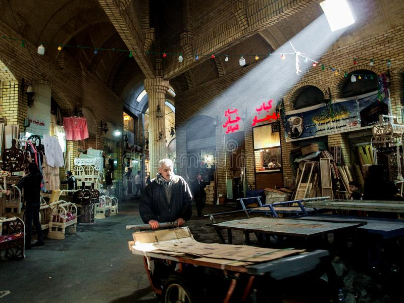 Qaysari Bazaar fotos de stock royalty free