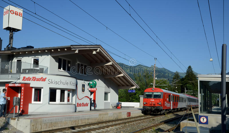 Download QBB Austria Train Arrive In The Train Station Editorial Photo - Image: 26765641