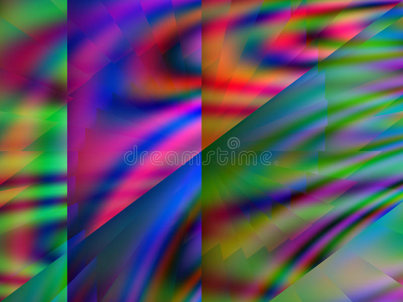 Download Qbist abstract background stock illustration. Illustration of abstract - 55446719