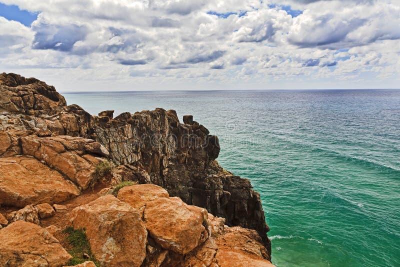 QE FI Ind Head Cliff stock photos