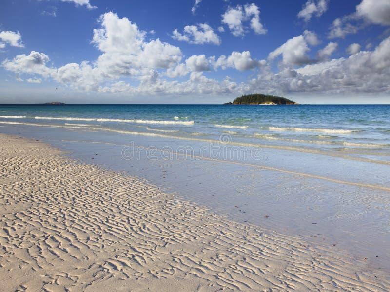 QE Whit Strand 2 Eilanden stock afbeelding