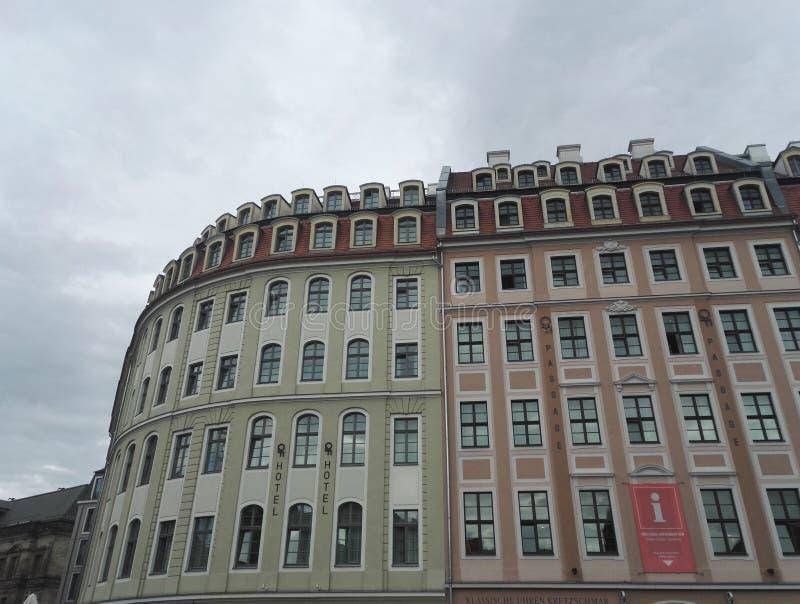 Qf hotell i Dresden, Tyskland arkivfoton