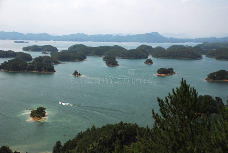 Qiandao jezioro zdjęcia stock