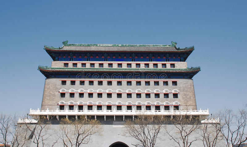 Qianmen, Beijing, China stock images
