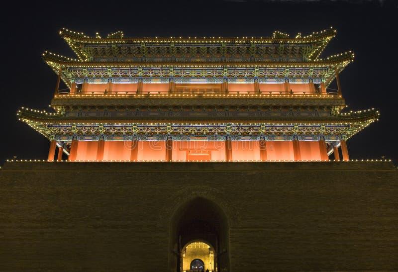 Qianmen Gate Tiananmen Square Beijing China royalty free stock photography