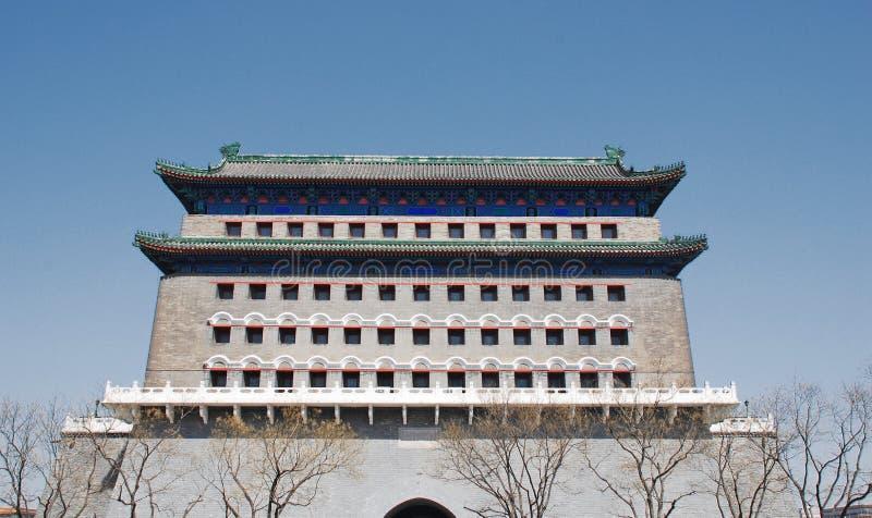 Qianmen, Peking, China stockbilder