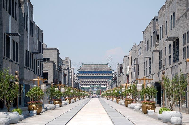 Qianmen street royalty free stock photography
