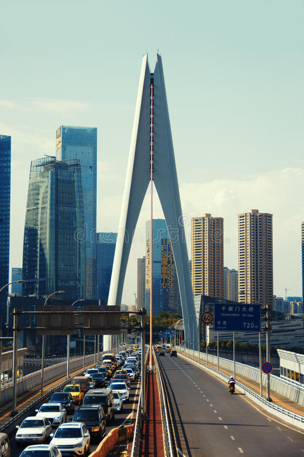 Qiansimen most obrazy stock