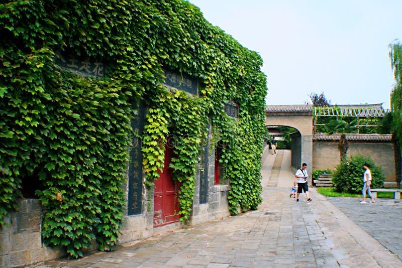 Qiantangzhizhai-Museum lizenzfreie stockfotos