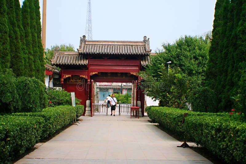 Qiantangzhizhai-Museum lizenzfreie stockfotografie