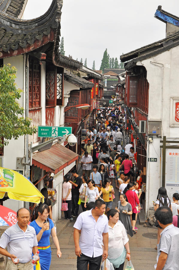 Download QiBao old town editorial stock image. Image of tourism - 34516994