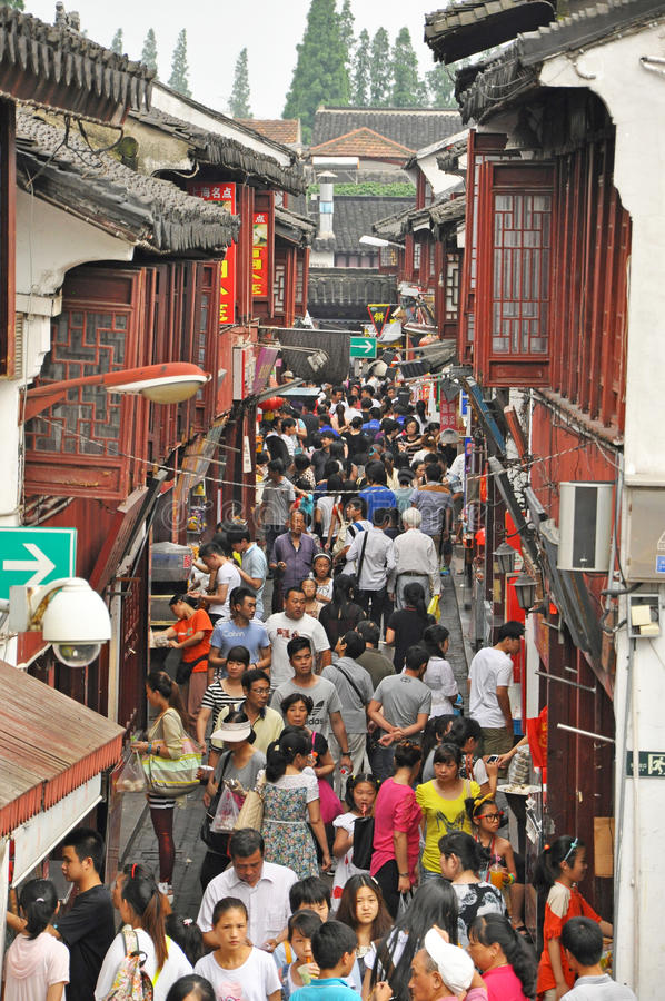 Download QiBao old town editorial stock photo. Image of chinese - 34517083
