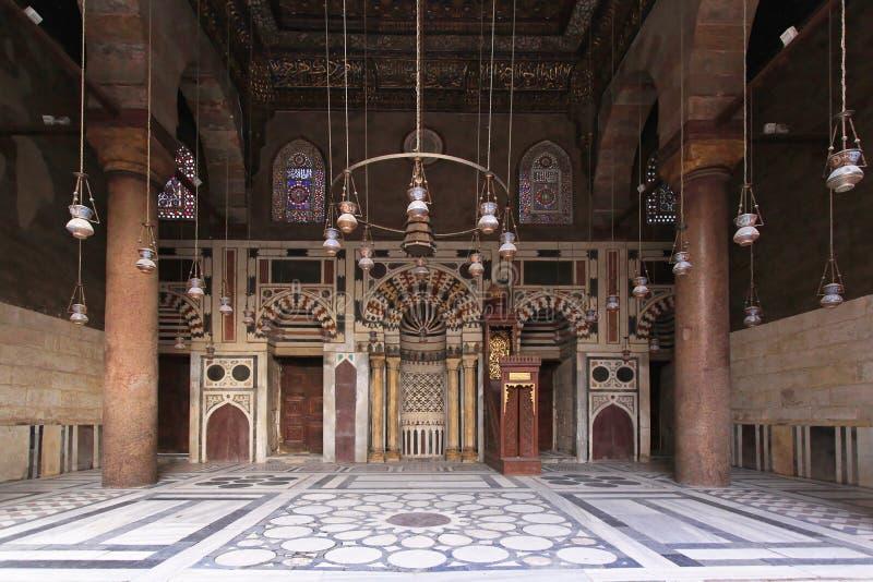 Qibla Iwan Mosque στοκ εικόνες