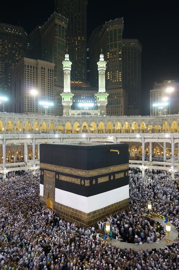 Qibla Ummah islamique partout dans le monde images libres de droits